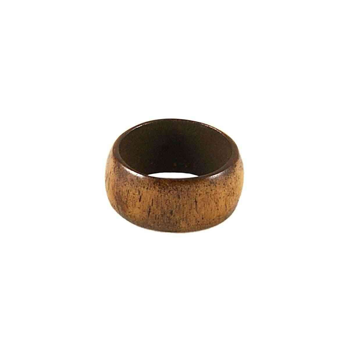 Leather Ring Brown Back