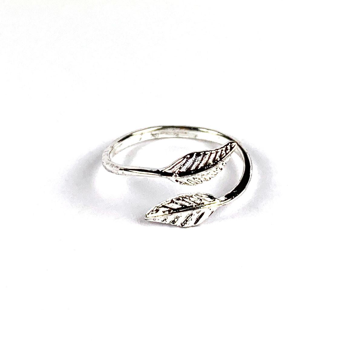 Leaf Ring Silver