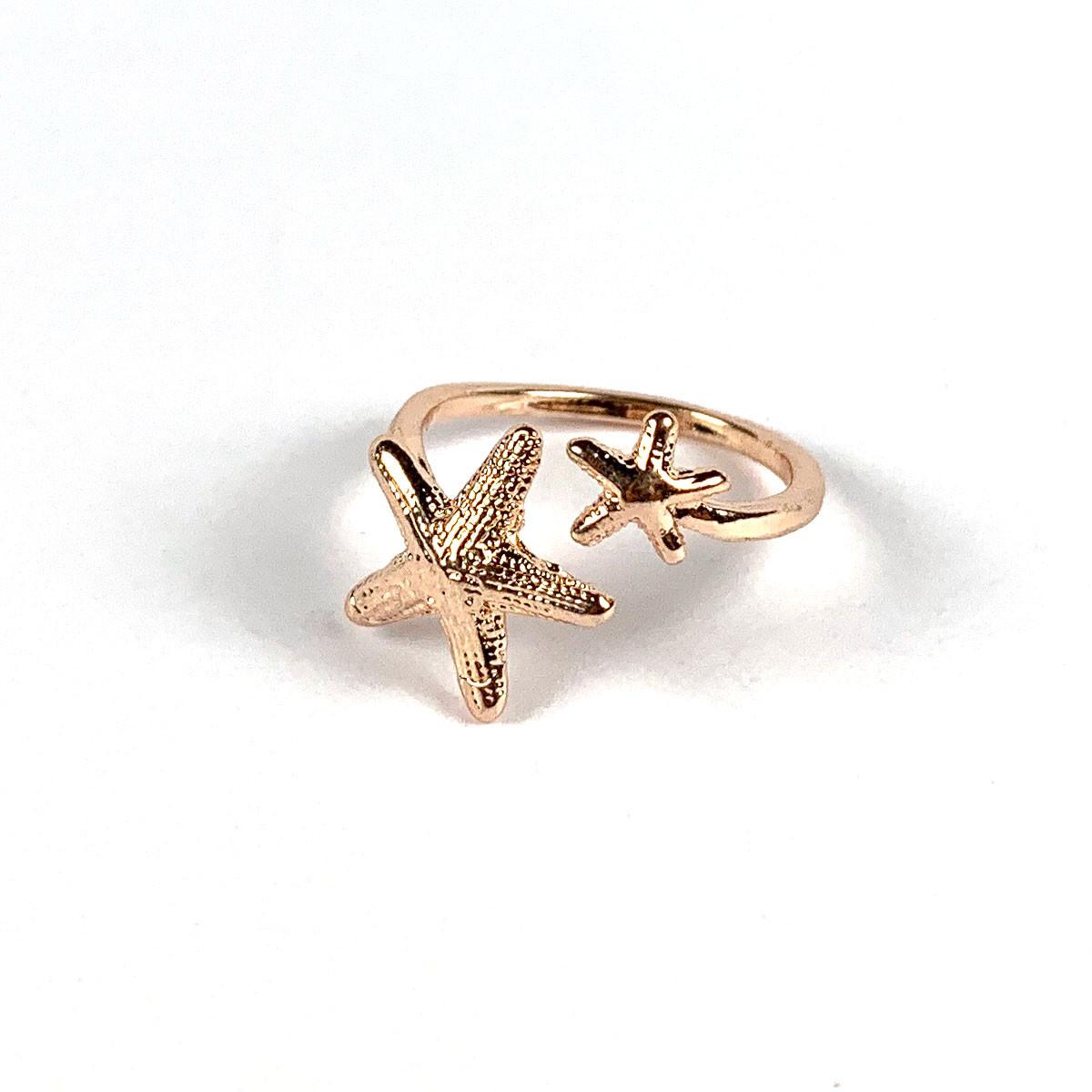 Starfish Ring Copper
