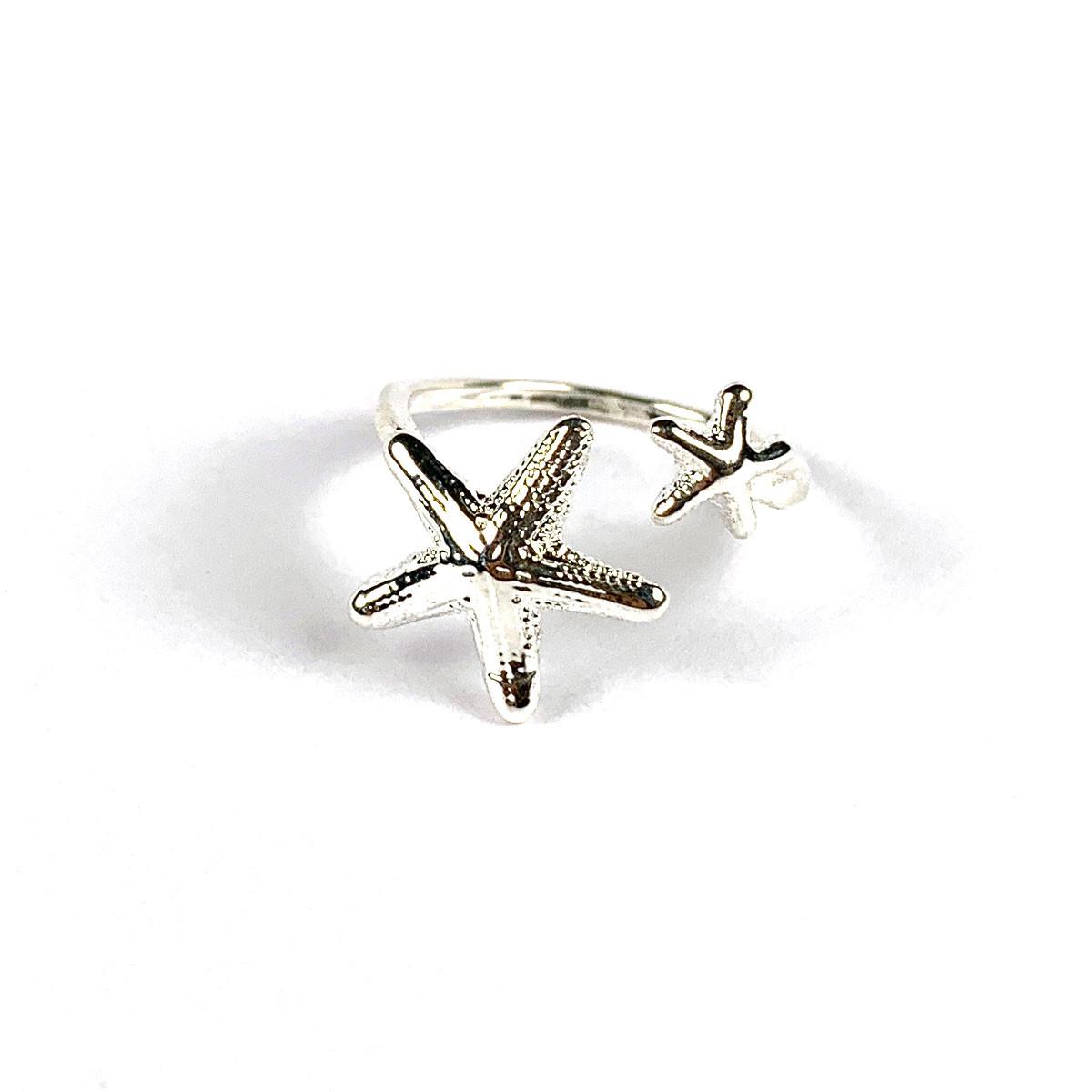 Starfish Ring Silver