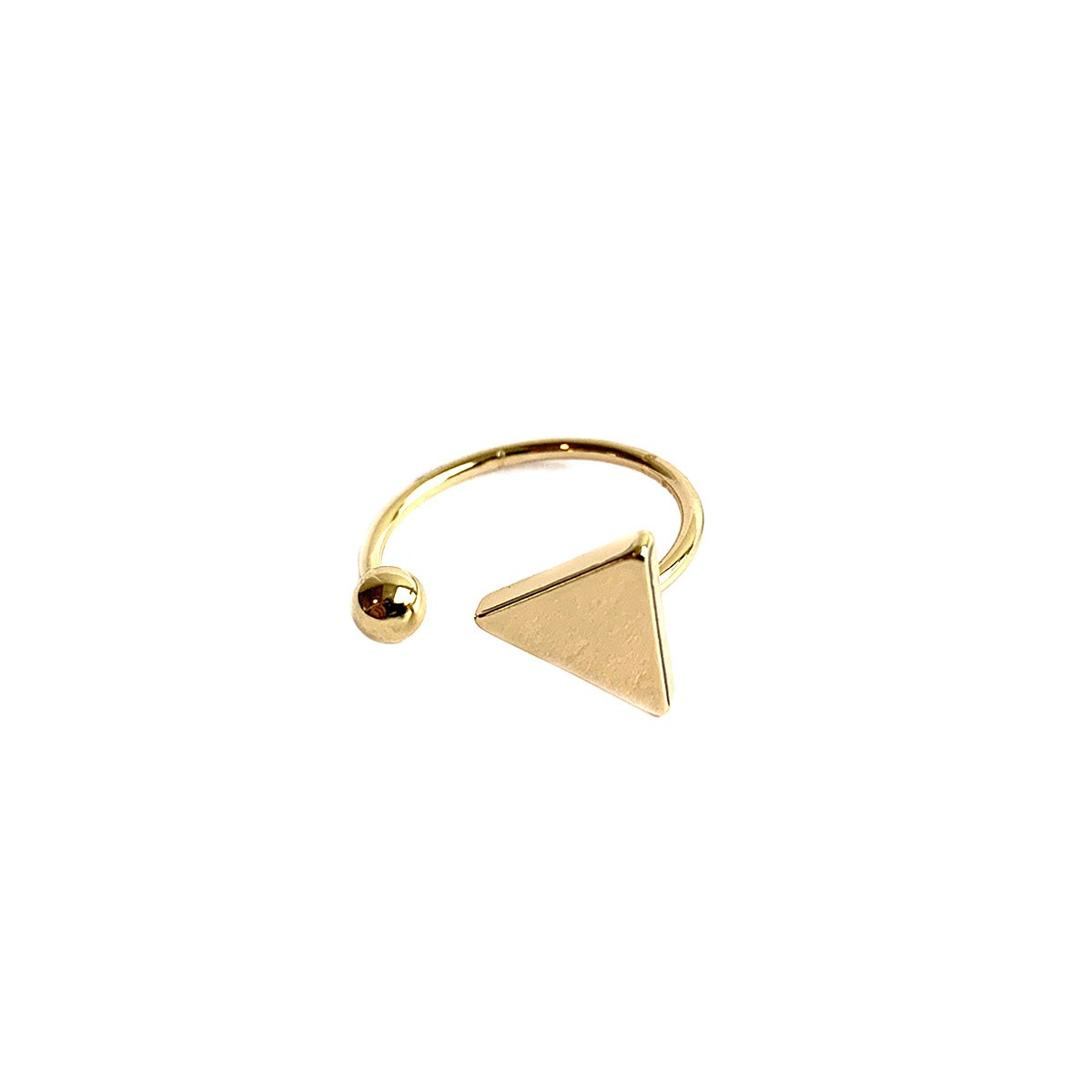 Triangel Ring Goud