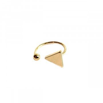 Triangel Ring Goud