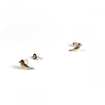 Sparrow Earring Silver