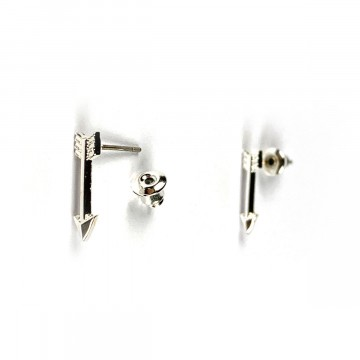 Arrow Earring Silver