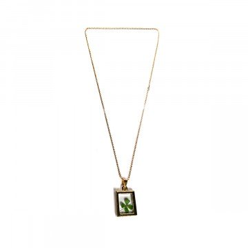 Four-leaf Clover Chain Rectangle