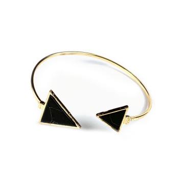 Big Stone Triangle Bracelet