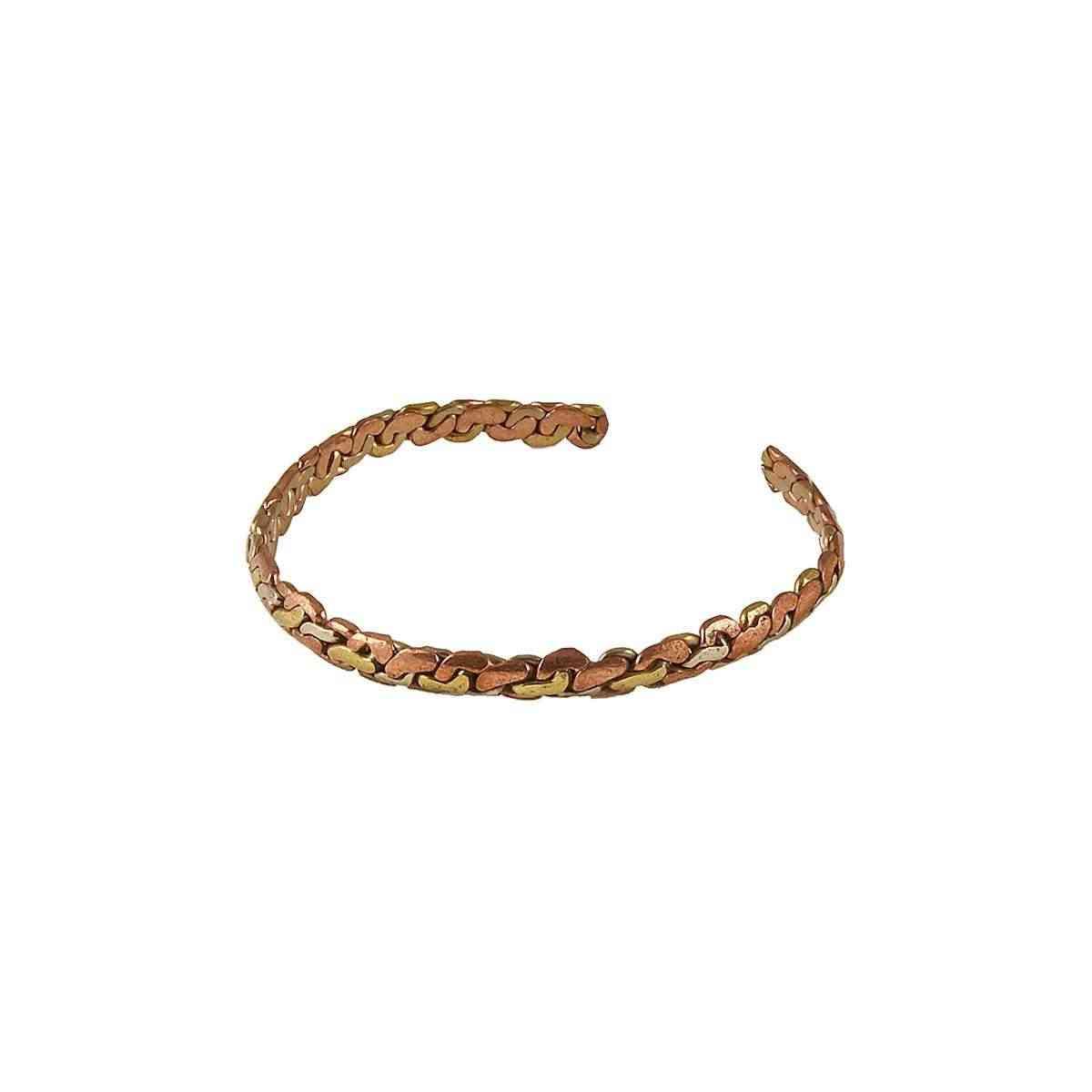 Braided Copper Bangle